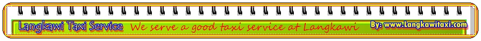 langkawi car rental or taxi service